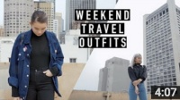 一周旅游穿搭不同服装风格分享 Weekend Travel Outfits -TheLineUp