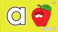 英语儿歌 字母发音逐一学ABC Letter Song美国儿童英语 USA Kids English 最强英语早教