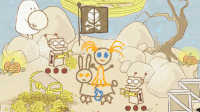 【小熙解说】画个火柴人09 神秘的海盗遗迹藏满宝藏和机器人!