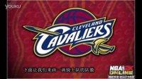 NBA骑士主场大胜尼克 粉丝热情绘制队徽