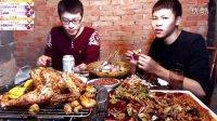 斗鱼老王熊熊直播吃香辣蟹+大母鸡