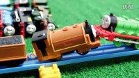 飞燕传媒 最强托马斯火车玩具大赛34 托马斯和他的朋友们 儿童玩具视频