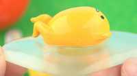 日本食玩之懒蛋蛋玩具 亲子玩具奇趣蛋出奇蛋日本玩具