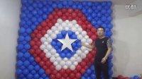 美国队长气球墙