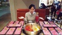 大胃王密子君直播吃潮汕牛肉火锅 14盘牛肉20161102