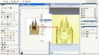 artcam浮雕教材--教堂制作过程