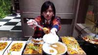 【大胃王密子君】直播吃家常热菜 太极羹+粉蒸肉20161105