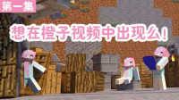 小橙子姐姐我的世界模拟城市《橙汁国》1:贫民房里玩相亲  模拟大都市 MC实况游戏解说 minecraft