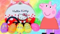 粉红猪小妹大礼盒玩具分享 彩色奇趣蛋熊出没大头儿子蜡笔小新