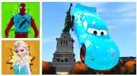 嘿!蜘蛛侠三兄弟上演比美国大选还精彩的城市飞车,特朗普简直弱爆啦!