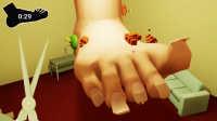 【小熙解说】修脚模拟器 这脚丫子好臭还长了绿蘑菇招苍蝇!