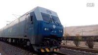 火车视频-双机HXD1-1000系离开兰州西机务段