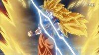 龙珠超 第12集 宇宙变成碎片!?激烈搏斗!破坏神比鲁斯VS超级赛亚人之神!