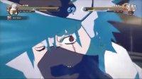 尊榊【火影忍者究极风暴4】第七代火影与六代火影卡卡西奥义演示