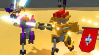 【屌德斯解说】 机器人大乱斗 无尽模式 新装备推进器边喷边砍