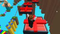 [小宝趣玩]Roblox05 跑酷游戏 逃离唐纳德·特朗普 下集 虚拟世界