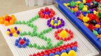 3c认证幼儿童3D立体百变拼图3-4567岁益智力玩具宝宝塑料拼板小孩