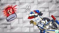 恐龙世界变形金刚系列#组装恐龙霸王龙警车3:超能力打怪兽游戏视频