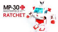 KL變形金剛玩具分享33 MP-30 醫官+第三方貼紙 Masterpiece Ratchet + Reprolabels