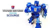 KL變形金剛玩具分享22 泰坦之戰 D級 瘟疫 Titans Return Deluxe class Fracas & Scourge
