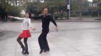 荆门月亮湖广场水兵舞第四套龚贾老师表演