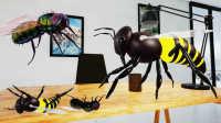 【小熙&屌德斯】模拟拍苍蝇 各种神奇道具弄死苍蝇!蜜蜂居然能蛰人!