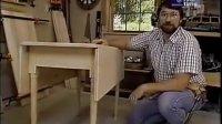 大胡子木工-可以折叠边缘的桌子-1989-0103 Drop Leaf Table-木工爱好者