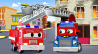超级变形卡车 第9集 变成消防车