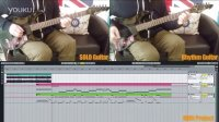 【吉他雨工作室】Guns N' Roses - 《Don't Cry》间奏电吉他SOLO教学(附伴奏)。