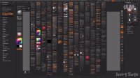 09 【Zbrush 4R7 教程】【中文教程】【哪里不会点哪里】全面基础第九课 【自定义按钮位置和自定义菜单】Zbrush4 essential1080p