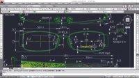 平面CAD眼镜绘图视频教程 第3课:眼镜图纸的认识二