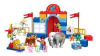 乐高 动物马戏团:马术和小丑杂技 宝宝巴士游戏 动物马戏团 4399小游戏