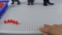 怪兽集合 一起来玩蘑菇钉吧~玩具