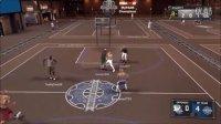 NBA2K17 mypark 对阵三个超级巨星 我被打吐了?!