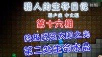 【晓唐】猎人的生存日记重制版16 终极套装奖励修复,第二处生命水晶