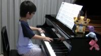 日本8岁小琴童钢琴演奏新海诚电影《你的名字》主题曲《前前世世》