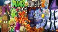 植物大战僵尸2恶搞《国际版原始双头龙博士VS闪电狂潮》侏罗纪战争