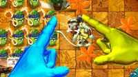 植物大战僵尸2国际版《金手指VS闪电指VS寒冰指の微观世界》