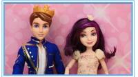 培乐多自制迪士尼公主婚礼礼服!芭比换装秀化妆秀