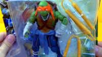 【忍者神龟】会用双节棍和三节棍的米开朗基罗 迪士尼玩具 城市英雄