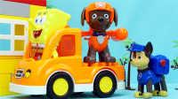 狗狗巡逻队 队员大集合 迪士尼 汪汪队立大功 玩具 海绵宝宝