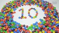 学英语 使用M&M玩具糖果 学习颜色和数字 口香糖糖果 学习不同的颜色   宝宝视频 Gumdrops  婴儿蹒跚学步 孩子
