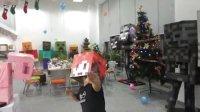 籽岷的VLOG 7 方块学园圣诞踩气球大赛 VS千秋