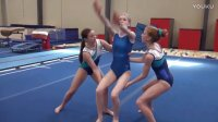 SevenSuperGirls Try Gymnastics[少儿体操训练]
