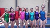 SevenSuperGirls Try Gymnastics