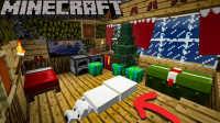 【我的世界Minecraft】原版圣诞装饰MOD | 原版模组介绍 | 一键命令方块 | Jackie_Coo