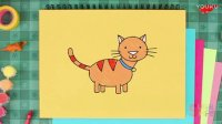 How To Draw A Cat | Super Simple Draw Episode 1 | Drawing for kids