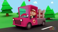 Betty's Tomato Truck | Carl's Car Wash Episode 1 | Cartoon for kids