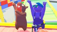 【小熙&屌德斯】基佬大乱斗 光头强水管工你的帽子掉了!熊熊要来吃你了!