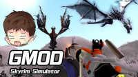【小枫的GMOD】星战母舰大战上古巨龙 | 老滚5模拟(Skyrim Simulator)